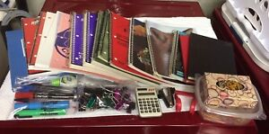 Office or School  Supplies -Notebooks, Lab Book, Graph Paper