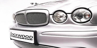 Jaguar X Type Grille Stainless Steel Woven Grill mesh insert