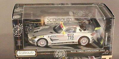 Scaleauto 6016B SC-6016b Mercedes SLS AMG GT3 Nurburgring 2010 n.739