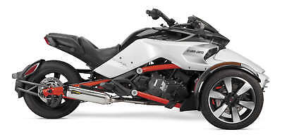 TWO BROS RACING F3/S S1R STAINLESS SLIP ON CAN AM SPYDER F3/S S1R - Two Bros