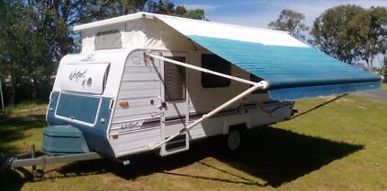 1998 JAYCO 16ft CARAVAN, ROLL OUT AWNING, finance available