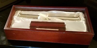 New Scroll / Diploma / Wedding Cert Keepsake Display Stand with Satin lined Box
