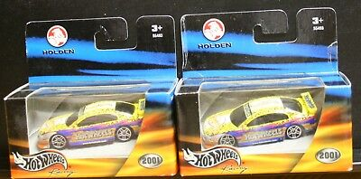 2 NEW HOT WHEELS RACING 2001 HOLDEN