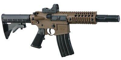 Bushmaster MPW Full Auto CO2 Powered BB Gun Air Rifle w/ Red Dot Sight (BMPWX)