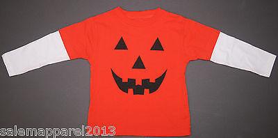 CHILDREN'S HALLOWEEN JACK-O-LANTERN PUMPKIN COSTUME TODDLER T-SHIRT - SIZE 3T](Halloween Pumpkin Toddler Shirt)