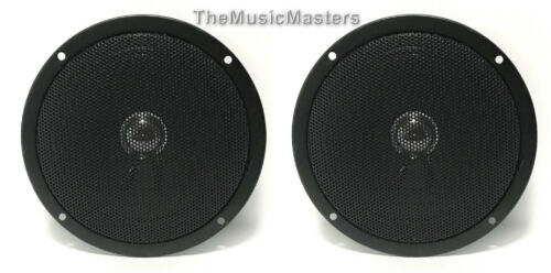 "Pair 5"" Home Speaker Cabinet Enclosure MIDRANGE Replacement Speaker Metal Grill"