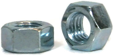 "Hex Finished Nuts Grade 5 Zinc - 5/16""-18 UNC - Qty-1000"