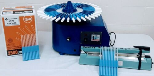 Tabletop Honey Stick Straw Filling Machine with 2,000 pre-sealed Straws