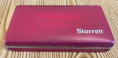 Starrett 711gcsz .030 0-15-0 Last Word Dial Test Indicator W-7 Accessories