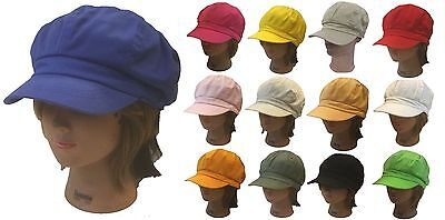 100 % Cotton Applejack Newsboy Gatsby Golf Driving Men Women Hat Cap