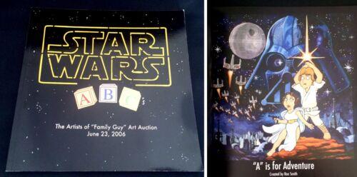 Star Wars ABCs Artists of Family Guy Art Auction Book Catalog 2006 LTD 176/300
