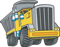 Dump Truck, Bobcat, Top soil, Sand and Gravel Services