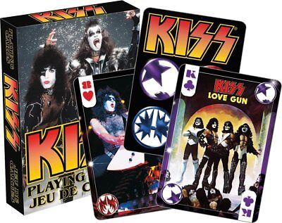 Kiss set of 52 playing cards + jokers (nmr)