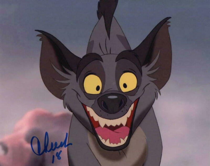 CHEECH MARIN SIGNED 8X10 PHOTO AUTHENTIC AUTOGRAPH THE LION KING COA