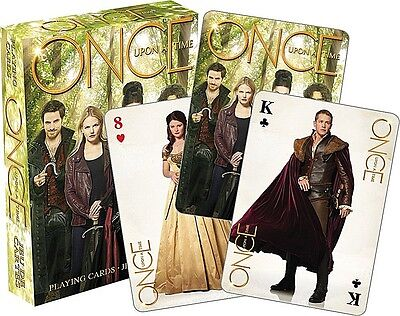 Once Upon A Time TV series (green) set of 52 playing cards (+ jokers) (nm 52390)