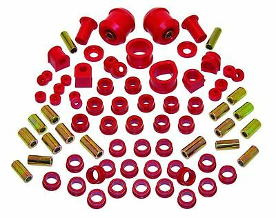 PROTHANE TOTAL SUSPENSION KIT For NISSAN 240SX 95-98 S14 BUSHING INSERTS KIT RED