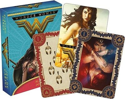 Wonder Woman (2017 Film) set of 52 playing cards + jokers (nm)