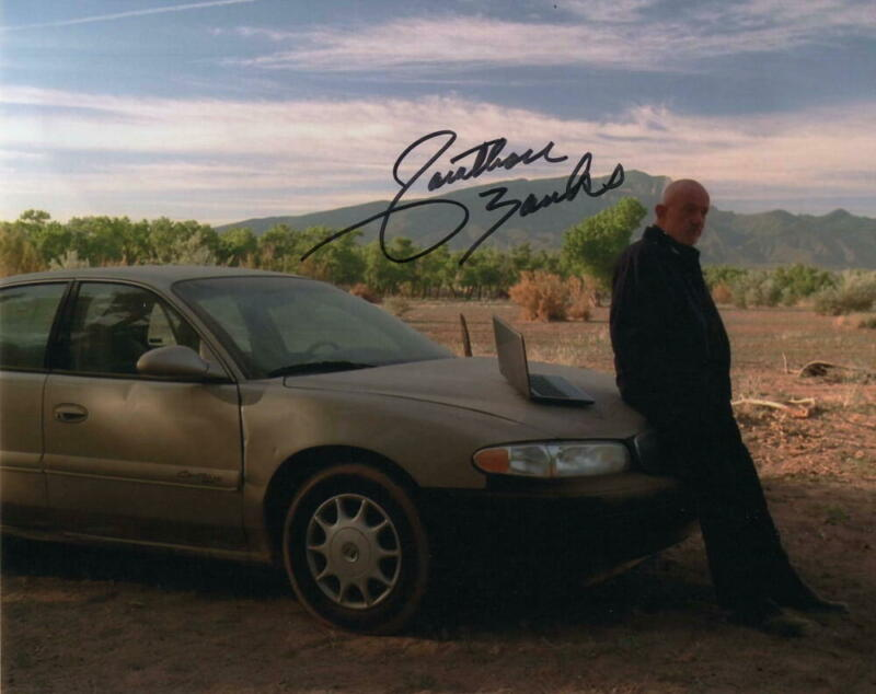 JONATHAN BANKS SIGNED AUTOGRAPH 8X10 PHOTO - BETTER CALL SAUL MIKE EHRMANTRAUT .