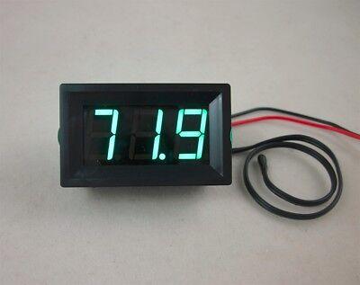Dc 12v Green Led Digital Thermometer -50220f Fahrenheit Temperaturetemp Probe