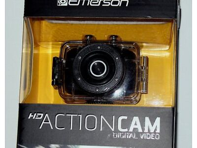 Emerson Go Energy Cam 720p HD Digital Video Camera Pro Grade 5 mp Video Screen