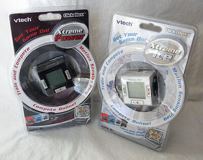 Vtech Click Box Extreme Ice    Power Handheld Interactive Sports Games Mib