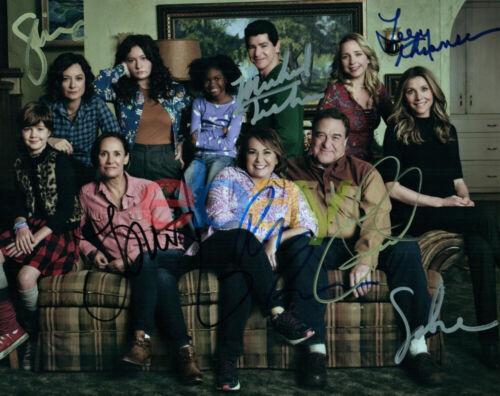Roseanne Cast Signed 8x10 Autographed Photo Reprint
