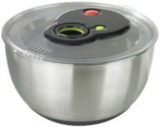 Emsa turbolne Salad Spinner 4,5L EDS with turbo-antrieb Soft-Touch Handle