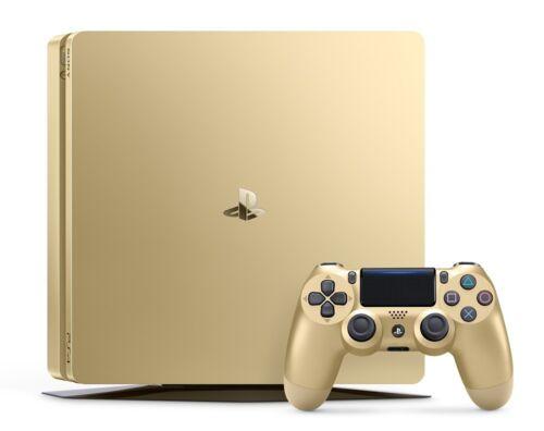 Playstation 4 - PlayStation 4 Slim 1TB Gold Console