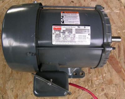 Dayton 3 Phase 1.5hp Electric Motor. Frame 184 Free Shipping