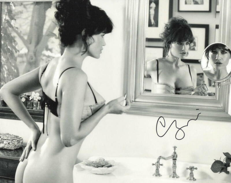 HOT SEXY CARLA GUGINO SIGNED 8X10 PHOTO AUTHENTIC AUTOGRAPH WATCHMEN COA C