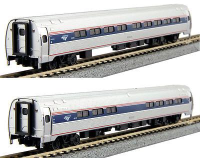 Kato N Scale 106 8003 Amtrak Amfleet I Phase Vi Coach Cafe Two Car Set B New