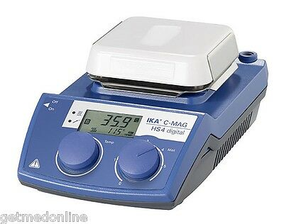 New Ika C-mag Ikamag Hs4 Digital Hotplate Stirrer 1500rpm - 500c 4240201