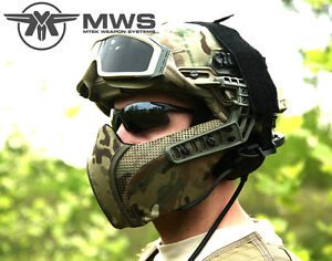 Predator-Facial-Armor-System-FAST-New-G4-For-MICH-ACH-LWH-PASGT-Helmet-MASK