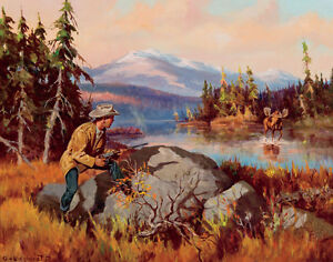 Wieghorst Olaf Buckfever Canvas 16 x 20  #7122