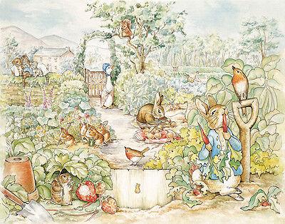 Beatrix Potter Peter Rabbit Print 11 X 14 5341 - $17.99