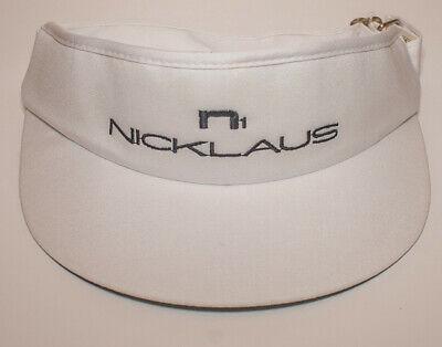 Vintage Jack Nicklaus Golf Visor Hat Cap Strapback PGA New NOS Made In USA N1