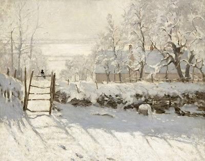 Monet Claude Provenance Musee d'Orsay Paris Canvas 16 x 20 #3669