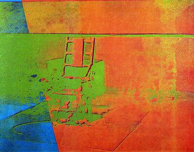 Warhol Andy Big Electric Chair Print 11 x 14   #  #3169