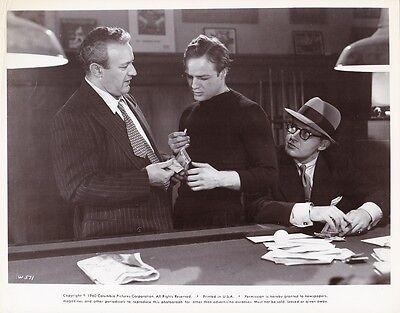 MARLON BRANDO ROD STEIGER Original Vintage ON THE WATERFRONT Best Actor
