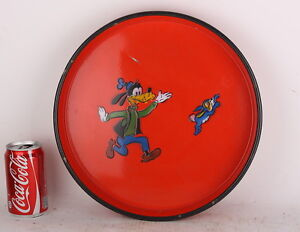 Goofy-Rabbit-Vintage-Food-Tray-porcelain-enamel-graniteware-bowl-beer-serving