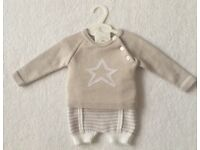 BNWT Spanish Style Baby Boy Grey Outfit 3 - 6 Months