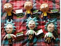 Rick and morty, figures, construction, plush, toys