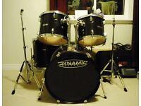 5 piece dynamic percussion kit