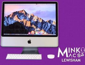 20' APPLE IMAC DESKTOP COMPUTER DUAL CORE 2.66GHZ 4GB RAM 320GB HARD DRIVE - WARRANTY - MINKOS MACS