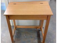 Old style wooden school desk with flip lid £25