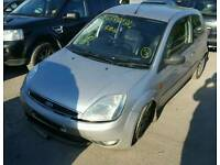 Ford fiesta mk6 silver breaking