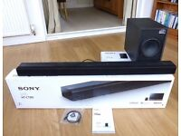 Sony Soundbar and Sub (HT-CT80)
