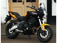 2012 Kawasaki 650 Versys 1 lady owner
