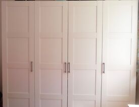 2x single, 1 double or compete IKEA wardrobe in East Molesey. From £15.