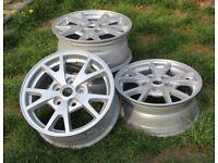 Set of four Alloy Wheels
